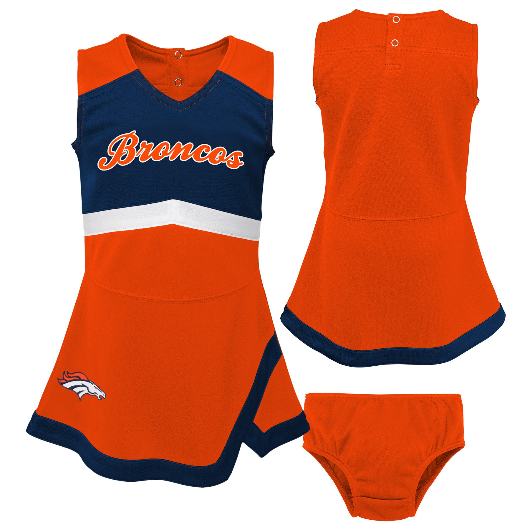 new styles 2ffec 7680a Denver Broncos Infant Cheerleader Dress