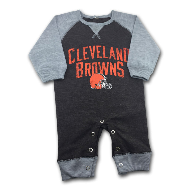 Browns Newborn Legacy Coverall
