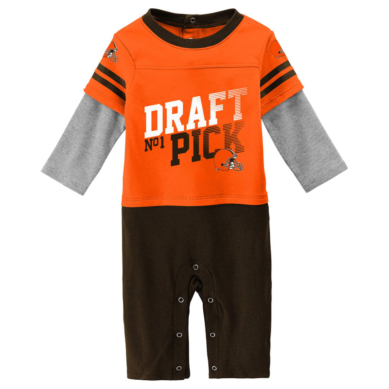 Browns Boy Long Sleeve Coverall