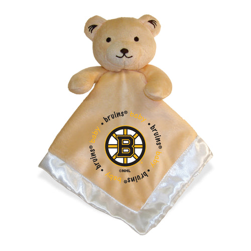 Embroidered Bruins Baby Security Blanket