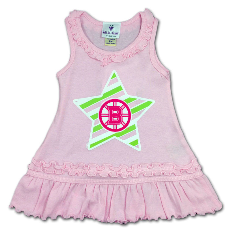 Boston Bruins Infant Pink Dress