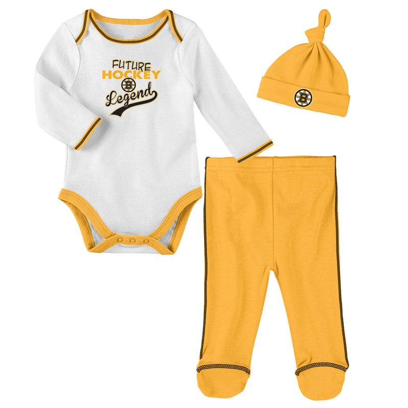 Boston Bruins Future Hockey Legend 3 Piece Outfit