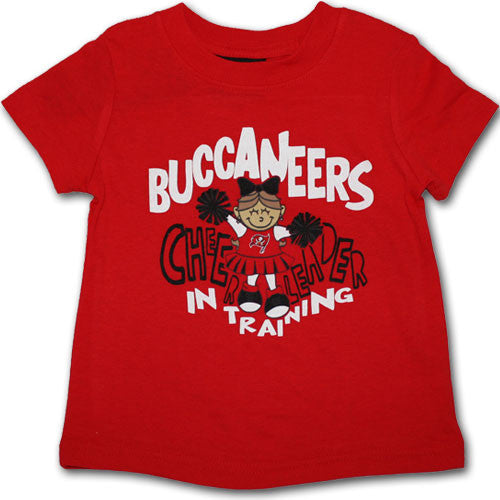 Buccaneers Infant Cheerleader in Training Tee
