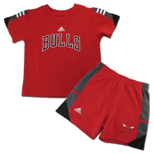 Bulls Classic Short Sleeve Shirt and Shorts Set