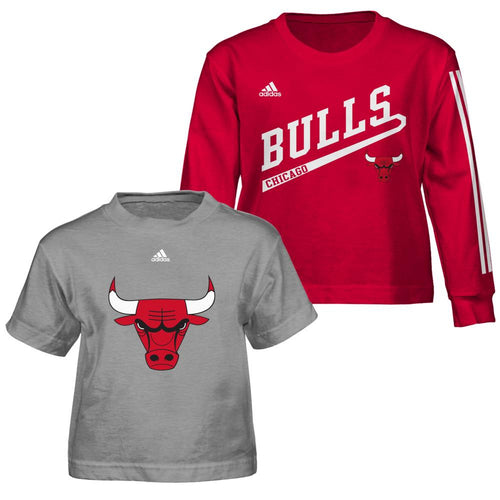 Bulls Fan Toddler T-Shirts Combo Pack