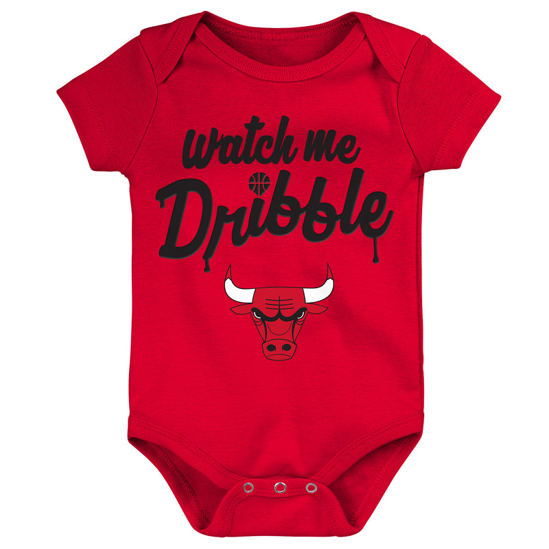 Bulls Watch Me Dribble Infant Bodysuit