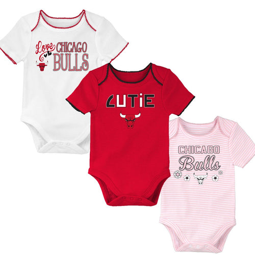 brand new 48f02 8aa4b Baby Fans Chicago Bulls Baby Clothes & Sleepers – babyfans