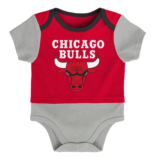 brand new 54ce9 08b70 Baby Fans Chicago Bulls Baby Clothes & Sleepers – babyfans