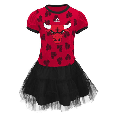Bulls Basketball Tutu Dress