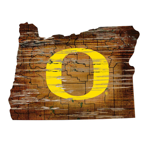 Oregon Room Decor - State Sign