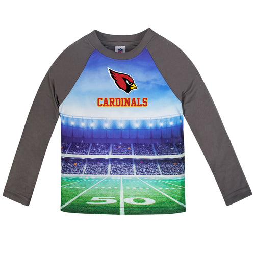 Cardinals Long Sleeve Football Performance Tee