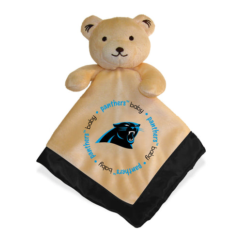 Embroidered Panthers Baby Security Blanket