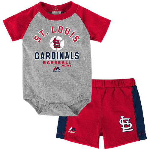 Cardinals Baby Classic Onesie with Shorts Set