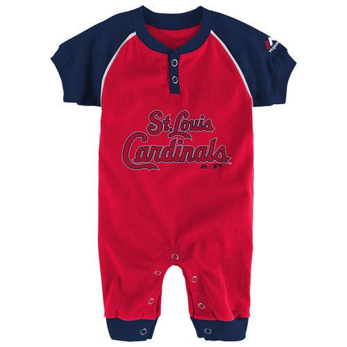Cardinals  Baby Uniform Coverall