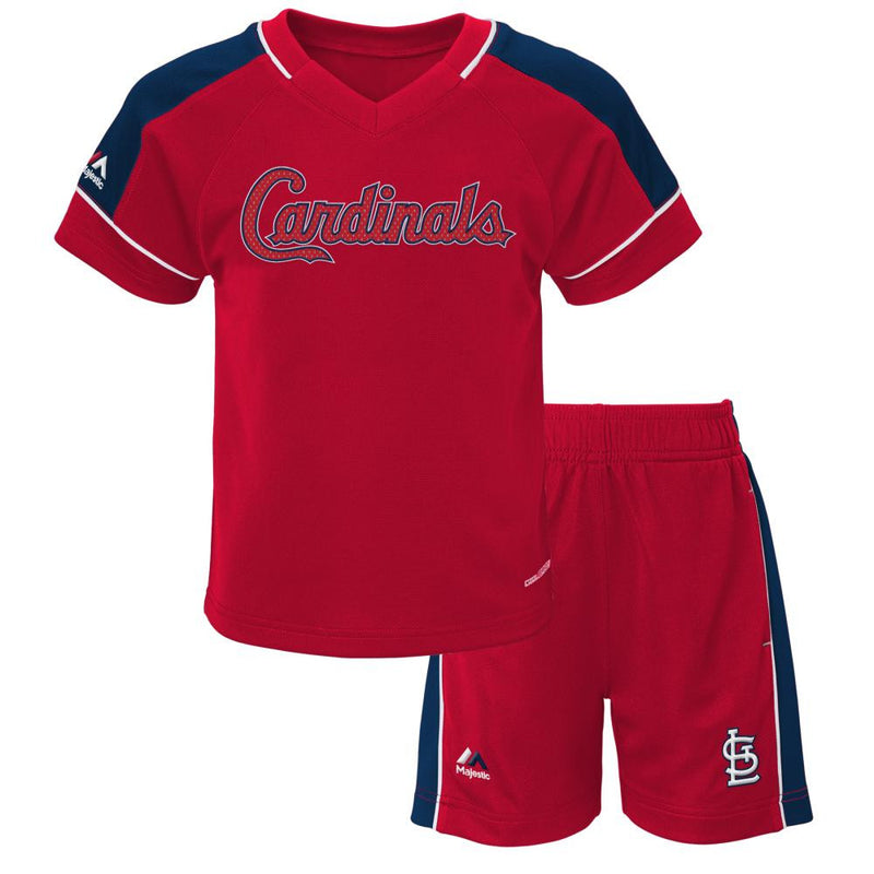 Cardinals Baby Classic Shirt and Short Set