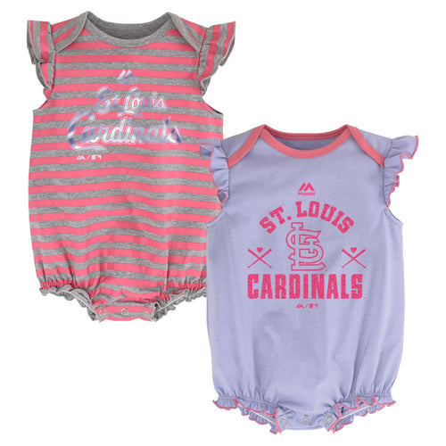 "Cardinals ""Team Sparkle"" Bodysuit Set"