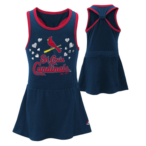 Cardinals Girl Criss Cross Tank Dress