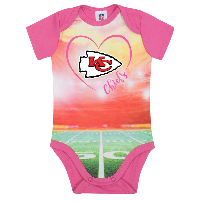 Kansas City Chiefs Girls Bodysuit