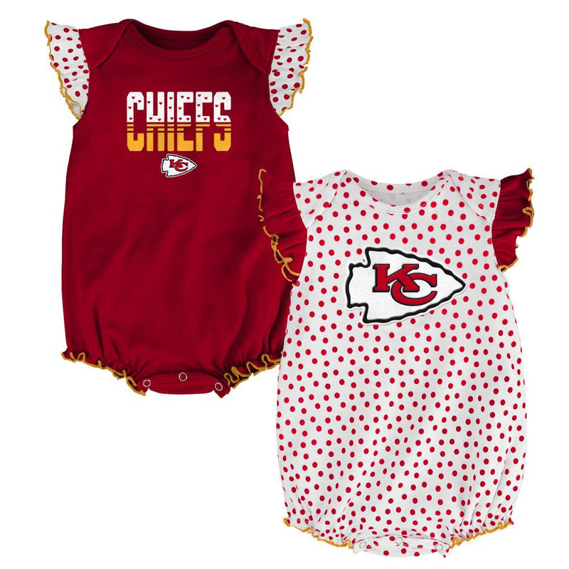 Chiefs Baby Girl Dotty Duo