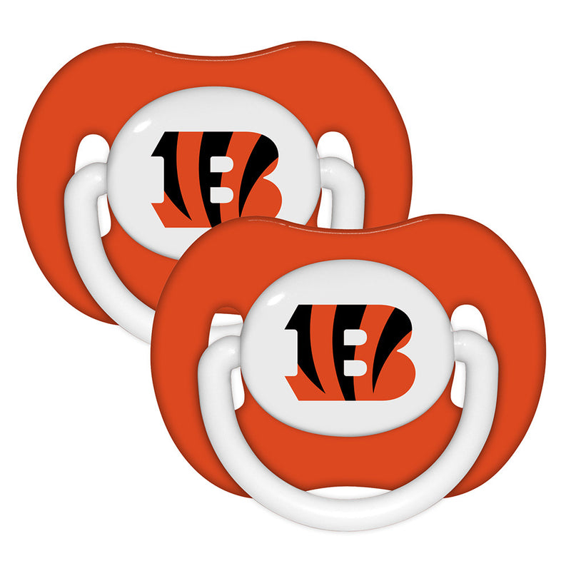 Bengals Two Pack Pacifier Set