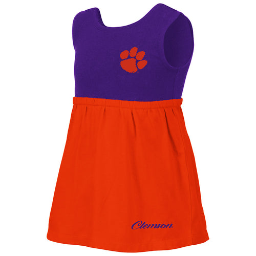 Baby's Clemson Victory Dress