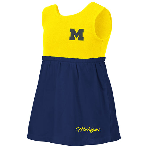 Baby's Michigan Victory Dress