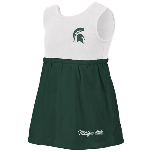 Baby's Michigan State Victory Dress