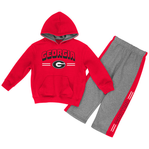 Georgia Toddler Boys Punter Fleece Set