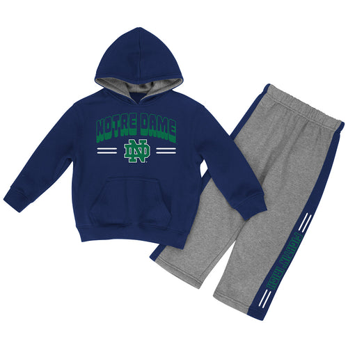 Notre Dame Infant Boys Punter Fleece Set