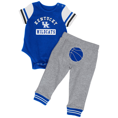 Kentucky Lil Champ Basketball Bodysuit and Pant Set