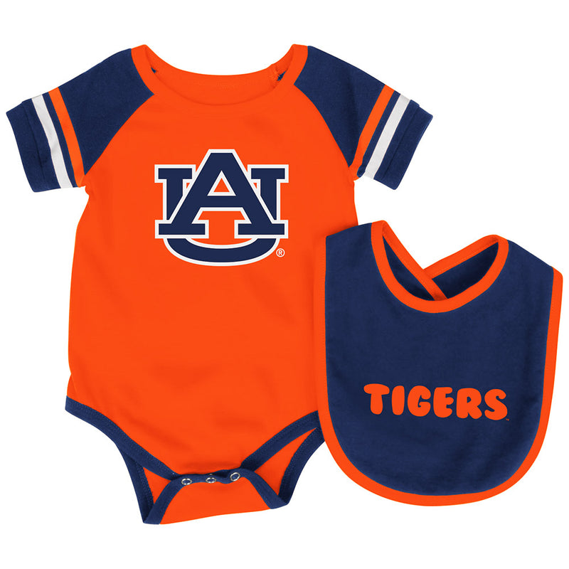 Auburn Baby Roll Out Onesie and Bib Set