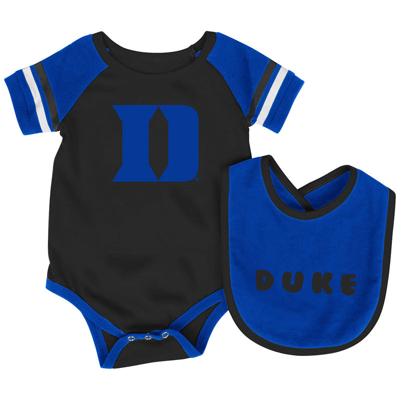 Duke Baby Roll Out Onesie and Bib Set