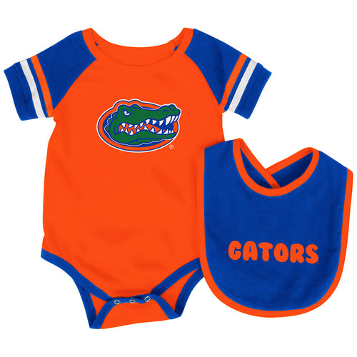 Florida Baby Roll Out Onesie and Bib Set