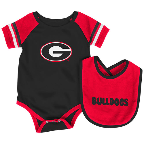 Georgia Baby Roll Out Onesie and Bib Set