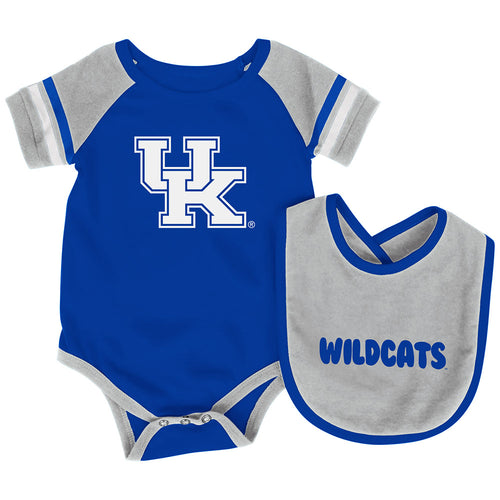 Kentucky Baby Roll Out Onesie and Bib Set