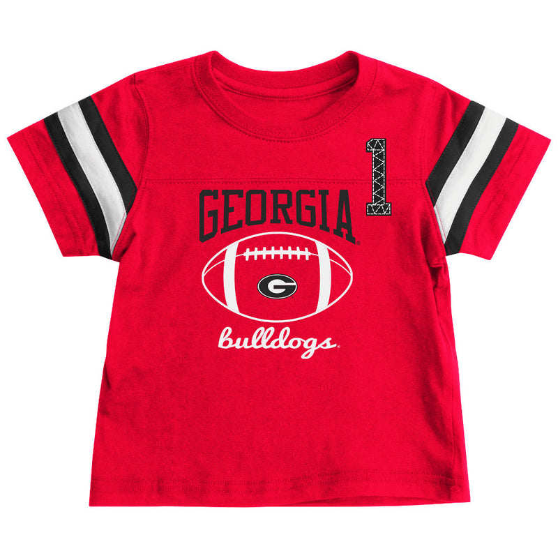 Georgia Bulldogs Infant Football Tee