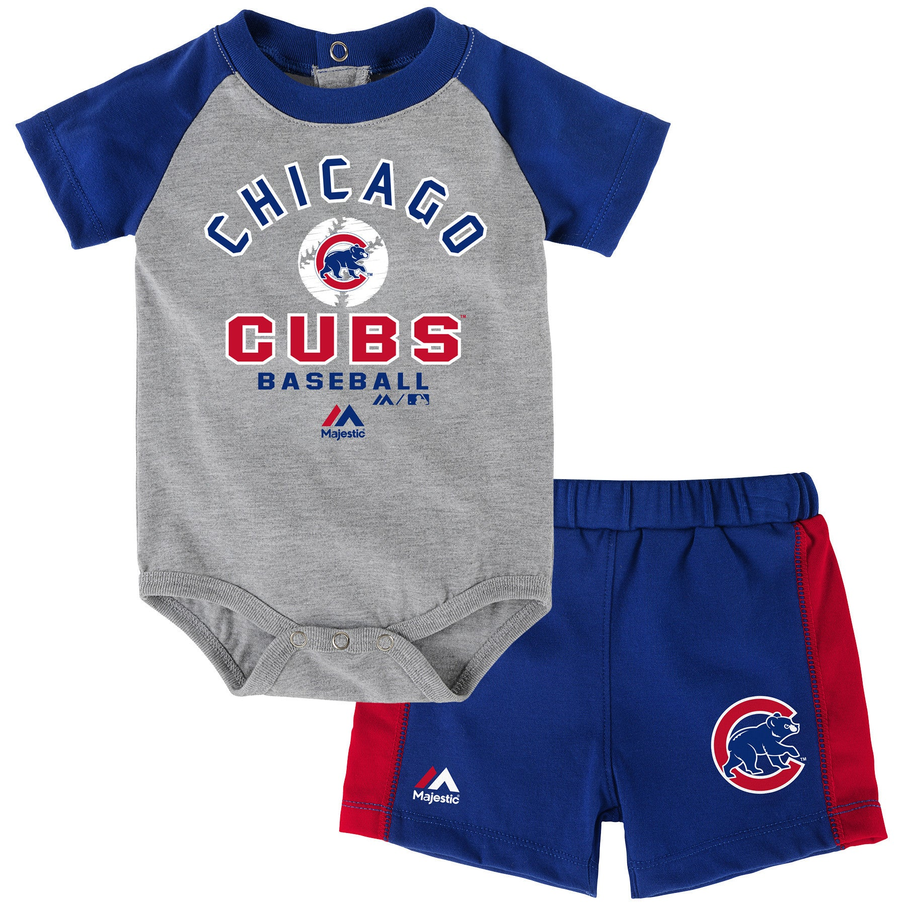 Cubs Baby Classic Bodysuit with Shorts Set – babyfans
