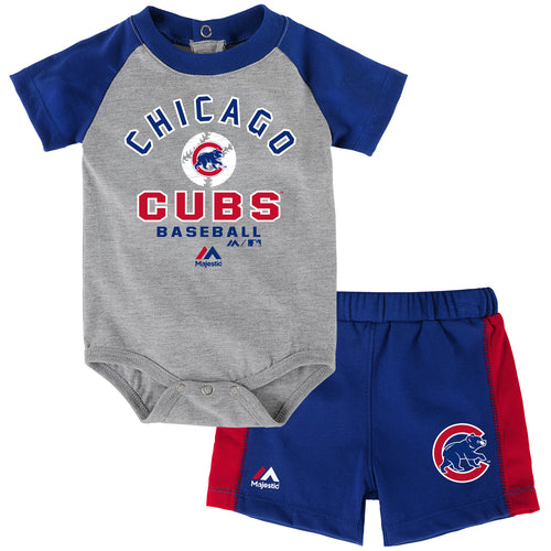 Cubs Baby Classic Onesie with Shorts Set