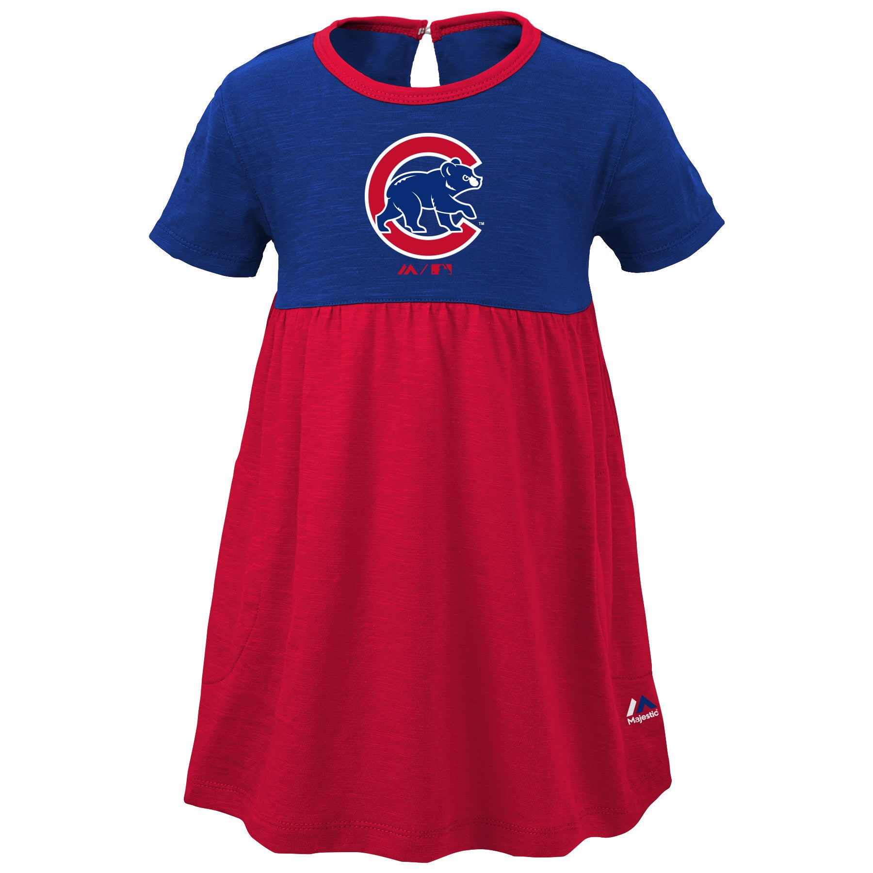 Cubs Baby Doll Dress – babyfans
