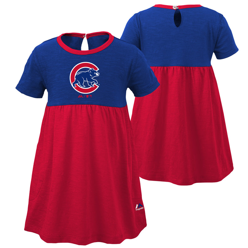 Cubs Baby Doll Dress