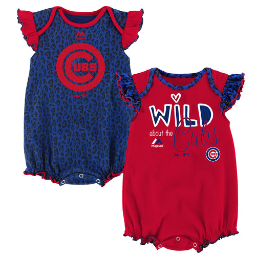 Wild About the Cubs Onesie Duo