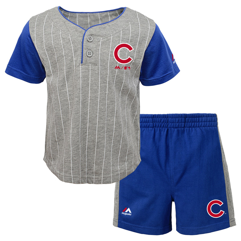 Cubs Bat Boy Short Set