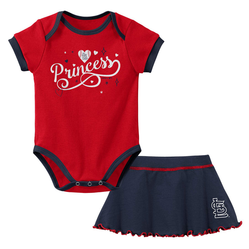 Cardinals Princess Bodysuit & Skirt Set