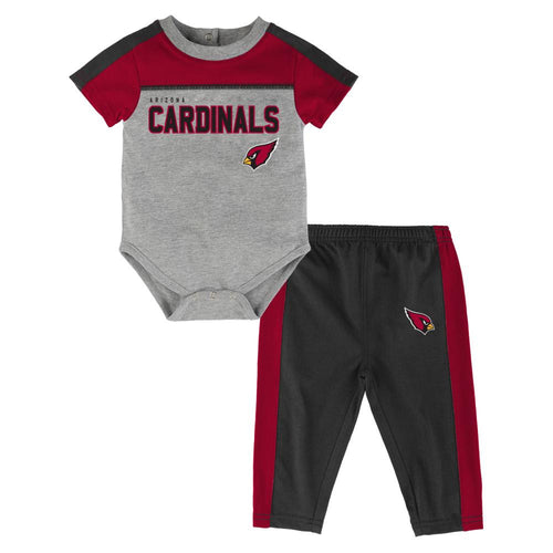 Cardinals Fan Playtime Creeper & Pants Outfit