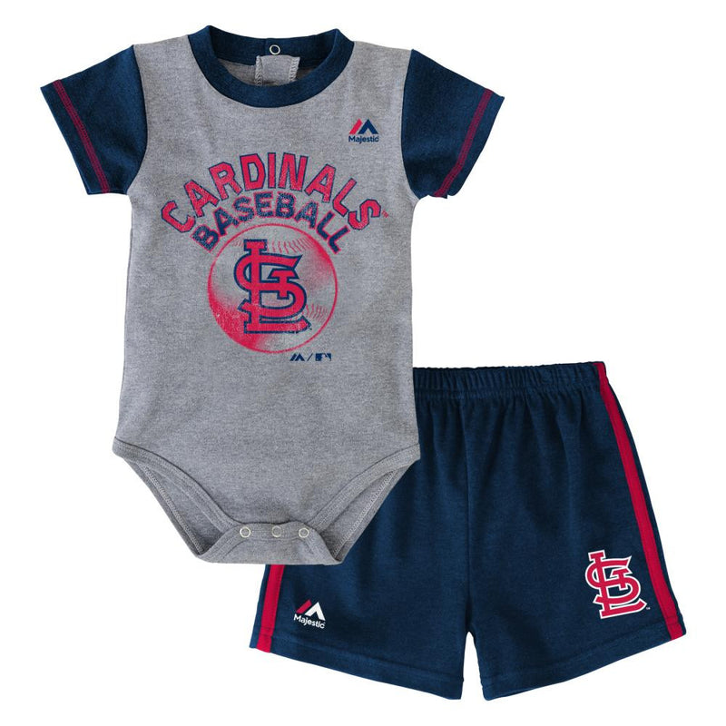 Cardinals Baby Jersey Bodysuit with Shorts