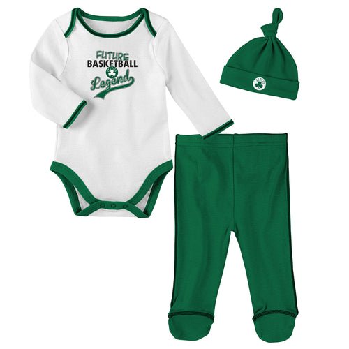 Boston Celtics Future Basketball Legend 3 Piece Outfit