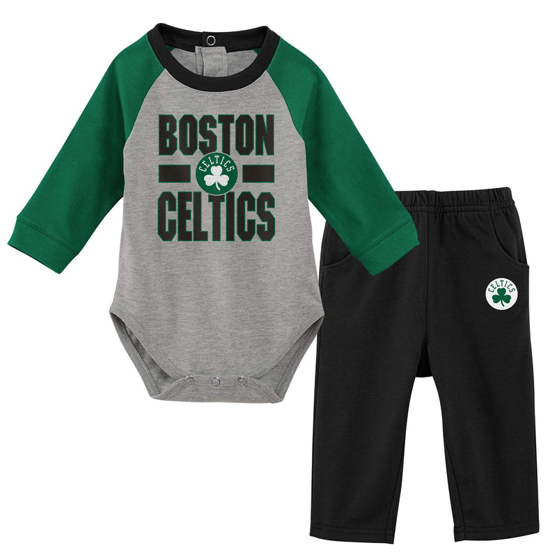 Celtics Long Sleeve Bodysuit and Pants