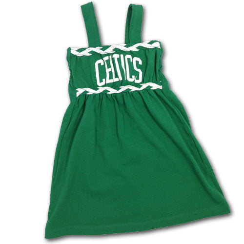 Celtics Braided Infant Dress