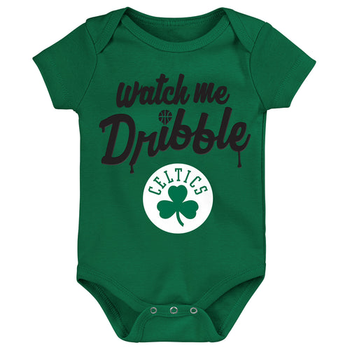 Celtics Watch Me Dribble Infant Bodysuit