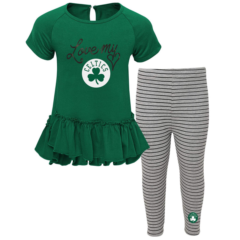 Celtics Girl Short Sleeve Tunic and Leggings